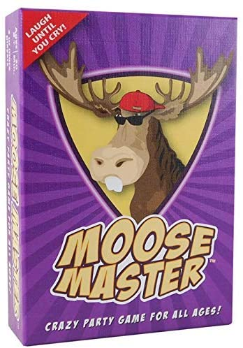 Moose Master - Party Card Game - Have Fun Making Your Friends Laugh