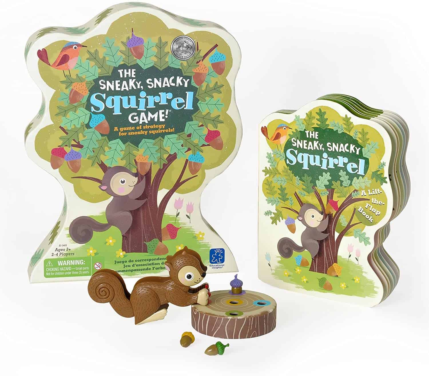 The Sneaky, Snacky Squirrel Game and Board Book Combo
