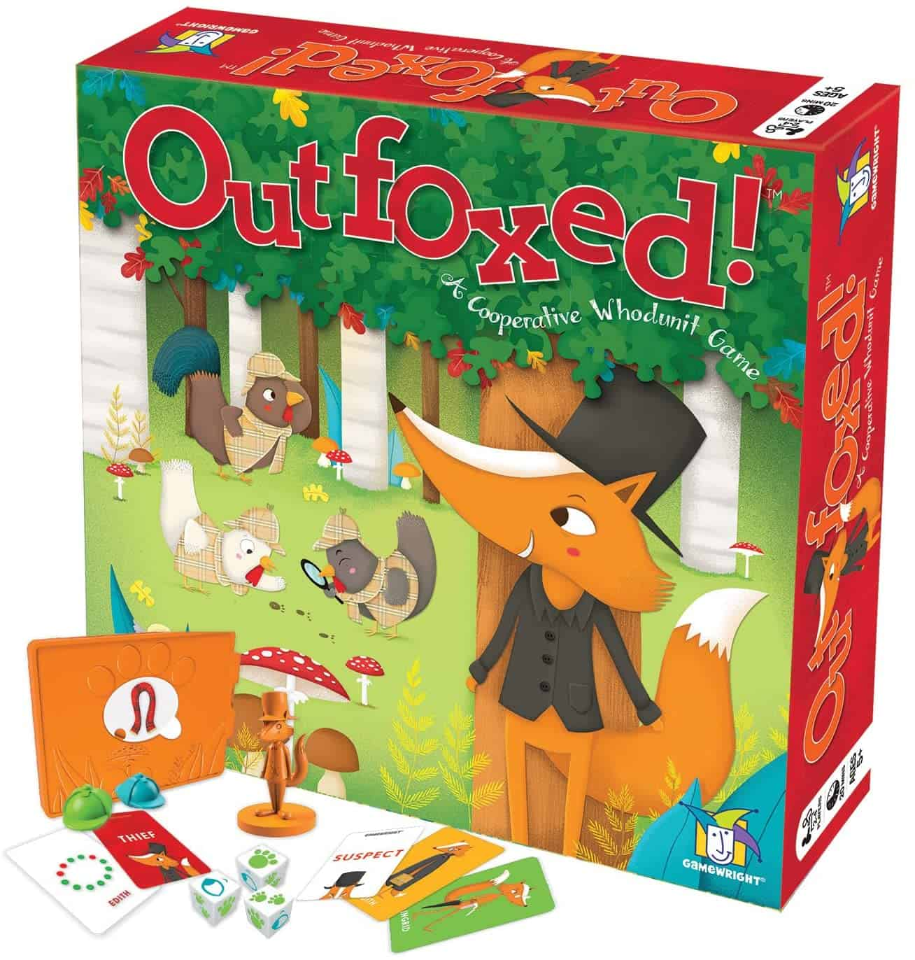 Outfoxed! A Cooperative Whodunit Board Game